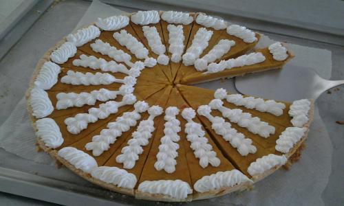 Tarta de calabaza, receta exclusiva de nuestra cocinera, Carolina.